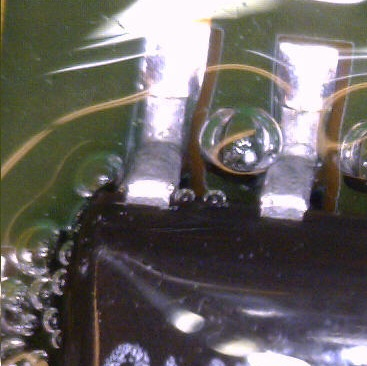 bubbles in conformal coating on pcb