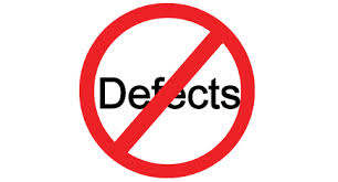 no defects graphic